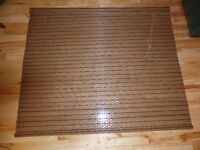 """Window Blind - Natural Rattan or Wicker Material 60"""" x 72"""""""