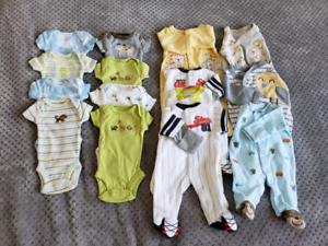 Used baby clothes size Preemie