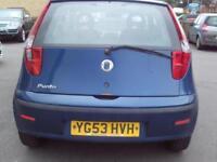 2003 Fiat Punto 1.2 Active 3dr 3 door Hatchback