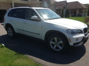 BMW X5, 2008, 7 seats, DVD player, Navigation, great condition