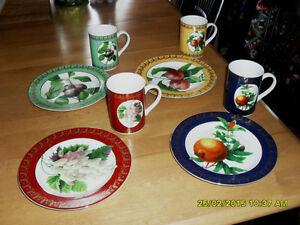 vaisselle 4 places American Atelier Royal Fruit #0333 Rawdon