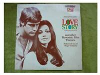 Love Story LP vinyl record