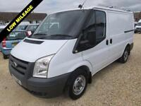 2011 60 FORD TRANSIT 2.2 TDCI T300 LOW ROOF ONLY 19103 MILES FROM NEW EX BT DIES