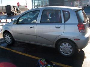 2004 Chevrolet Aveo 5 -    \ Baisse de prix  $ ......