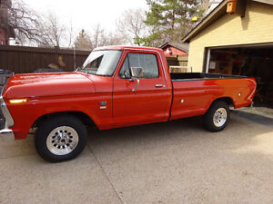 1976 FORD F-250 Classic (Price reduced )