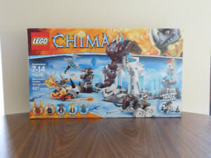 LEGO 70226 Chima Mammoth's Frozen Stronghold
