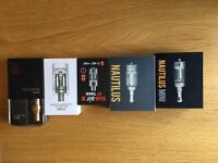 Various Vaping Tanks