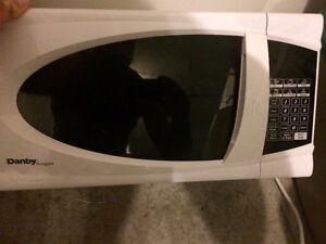 Danby White Microwave in good condition.