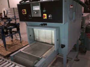 Used Shrink Wrap Machine – Shanklin T7H Shrink Tunnel (103).