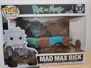 Rick and Morty - Mad Max Rick - Funko Pop Ride
