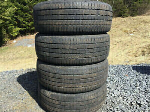Four Continental 235/60R18 Summer Tires Excellent Tread