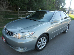 2005 Toyota Camry Sedan  LE loaded leather  4495 certified