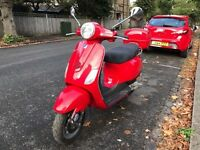 PIAGGIO Vespa Lx 50 cc dragon red 2006 !