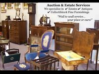 Online Furniture, Jewelry and collectibles Auction