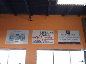Advertising Space in Busy Collingwood Fitness Facility