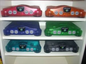 Looking for all Coloured Funtastic N64 Systems