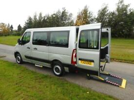 2012 Renault Master 2.3 DCi AUTOMATIC Only 44K WHEELCHAIR ACCESSIBLE VEHICLE WAV