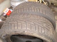 2   KUMHO  P225/60R16 winter tires