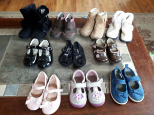 toddler shoes. 10 pairs size 4 and 5s