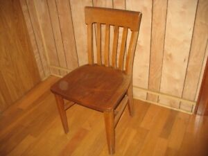 Antique (70 years old) Oak Chair