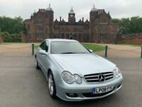 Facelift Mercedes CLK200 Kompressor 1.8 (184bhp) auto Avantgarde ULEZ Compliant