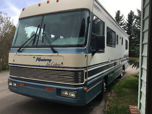 Reduced beautiful motor home