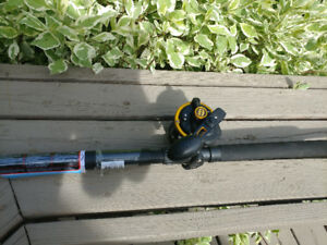 Penn Squall 40LD Fishing Combo 7' Rod and Reel