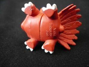 Digimon Mini Figure Elecmon Red Blue Mouse Rabbit Toy Bandai Kingston Kingston Area image 3