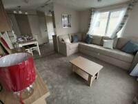 luxury 6 berth static caravan for sale at trecco bay / south wales