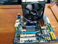 Am3 motherboard/cpu with aftermarket cooler and ram
