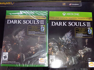 Xbox One - Sealed Dark Souls 3 (Day One Edition) + Dark Souls 1