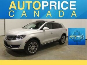 2016 Lincoln MKX Reserve NAVI PANORAMIC ROOF LEATHER