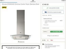 Zanussi hood retails £200 grab a bargain £100