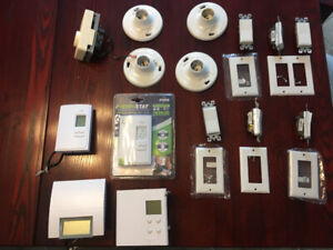 4 thermostats  programmables +++