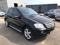 Mercedes Ml 320 CDI Sport, *£8,000 Worth Of Factory Fitted Extras* 12 Month Mot, 3 Month Warranty