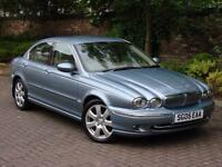 EXCELLENT DIESEL!!! 2005 JAGUAR X-Type 2.0 D SE 4dr, FULL LEATHER, 1 YEAR MOT,