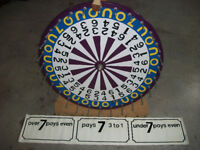 roulette wheel -over under game