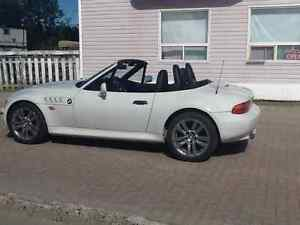 BMW roadster convertible