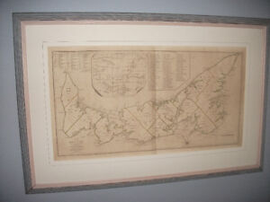 "RARE PEI MAP ""ISLAND OF ST. JOHN IN THE GULF OF ST. LAURENCE"""