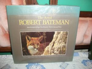 Two Robert Bateman books one signed and one on Canada