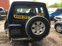 Mitsubishi Shogun 3.2DI-D auto Elegance SPARES & REPAIRS ENGINE ONLY DONE 115 K