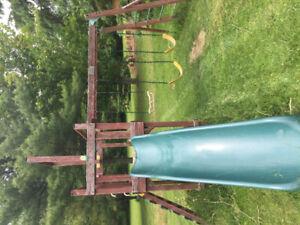 Swing Set/ Kids Playground