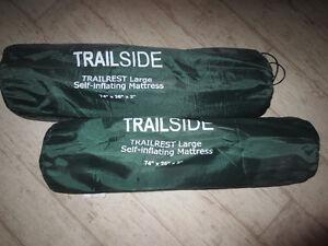2 Trailside  self inflating matresses