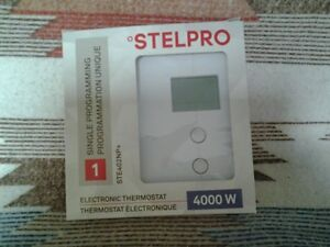 10 thermostats electroniques STELPRO/ 10 electronic thermostats