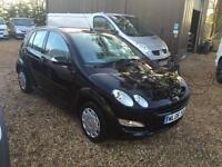 SMART FORFOUR BLACK EDITION 72,000 miles NO VAT, Black, Manual, Petrol, 2006