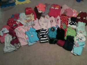 Size 12 month baby girl fall/winter clothing