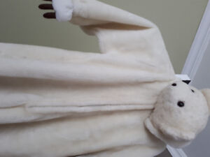 Costume d'ours blanc