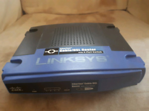 Linksys Cisco EtherFast Cable/DSL Router  4 ports