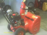 Brand new Tao Tao Snowblower or Used Craftsman