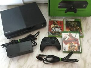 -245$ - X Box One 500gig + Deadpool, Fallout, Red Dead..